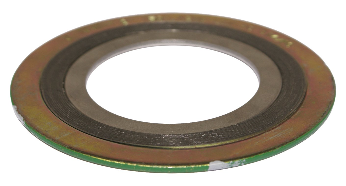 Sterling Seal and Supply , Inc. API 601  9000IR8316GR300 Spiral Wound Gasket with 316SS Inner Ring, 8'' Pipe Size x 300# Class Flange x 316SS/Flexible Graphite by Sterling Seal & Supply, Inc. (STCC)