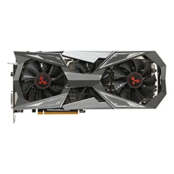 KKmoon Colorful iGame GTX1080Ti Vulcan X OC Video Graphics Card GPU 1620-1733MHz 11G 352bit