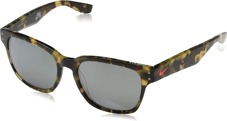 corrupción latitud Caballero  Nike Unisex Adults Sonnenbrille Volano Ev0877 206-55-19-140 Sunglasses,  Brown (Brown), 55.0: Amazon.co.uk: Clothing