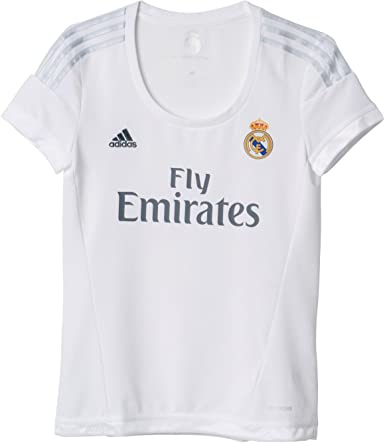 adidas 1ª Equipación Real Madrid CF - Camiseta Oficial Mujer