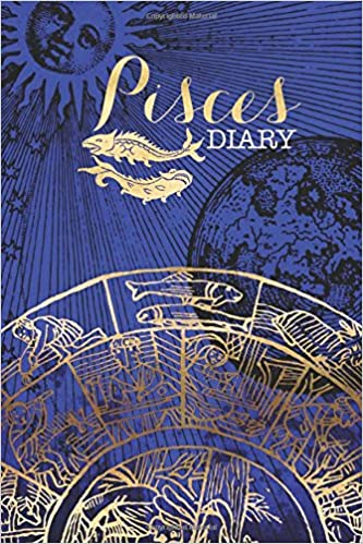 Pisces Zodiac Sign Horoscope Symbol Journal: (Notebook, Diary, Blank