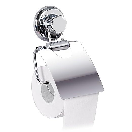 69 opinioni per Tatkraft MegaLock Porta carta igienica da parete senza forare con ventosa
