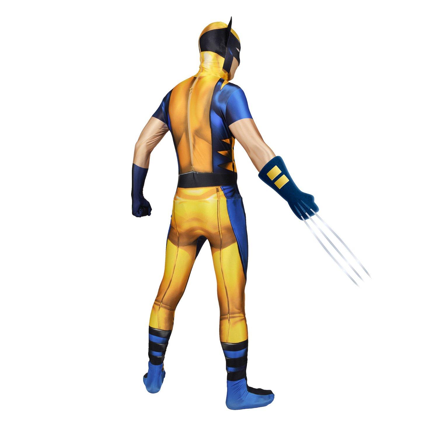 Morphsuits - Disfraz Wolverine, Multicolor (delux digital), talla ...