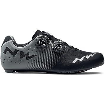Zapatos de bicicleta de carretera NORTHWAVE Revolution Road negro / antracita: Amazon.es: Deportes y aire libre