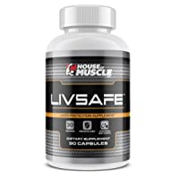 LivSafe (90 Capsules) - Liver Protection Supplement - Protect, Cleanse & Detoxify...