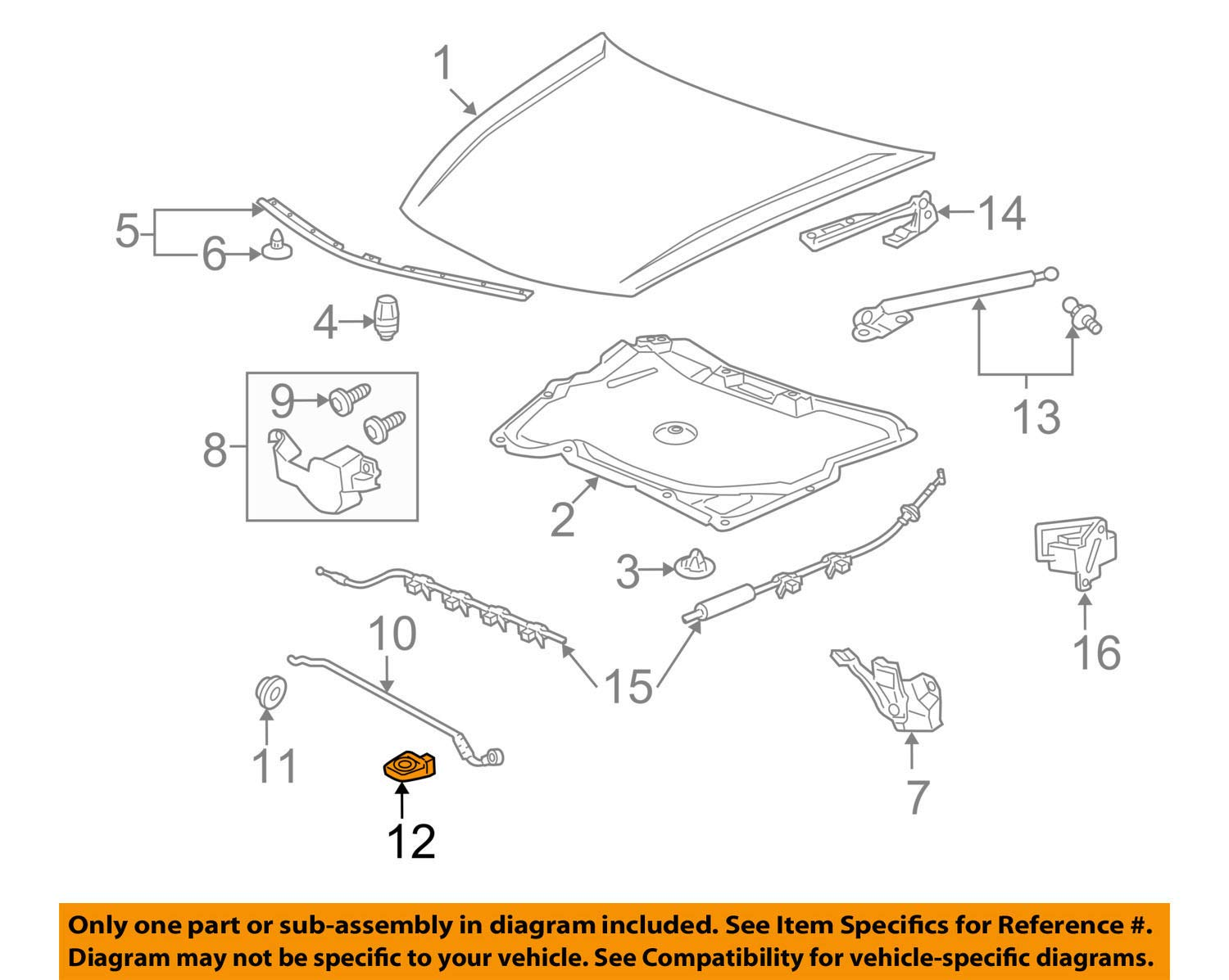 Available Part Diagrams 75 In Body Hardware