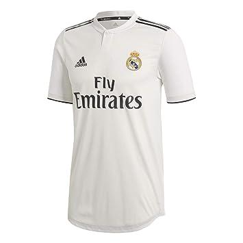 adidas Real Madrid Hogar Authentique - Camiseta de fútbol para Hombre: Amazon.es: Deportes y aire libre