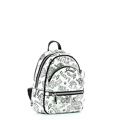 c22e3f3308f Guess Manhattan, Women's Backpack, Multicolour (Graffiti/Gft), 21x27.5x10  cm (W x H L): Amazon.co.uk: Shoes & Bags