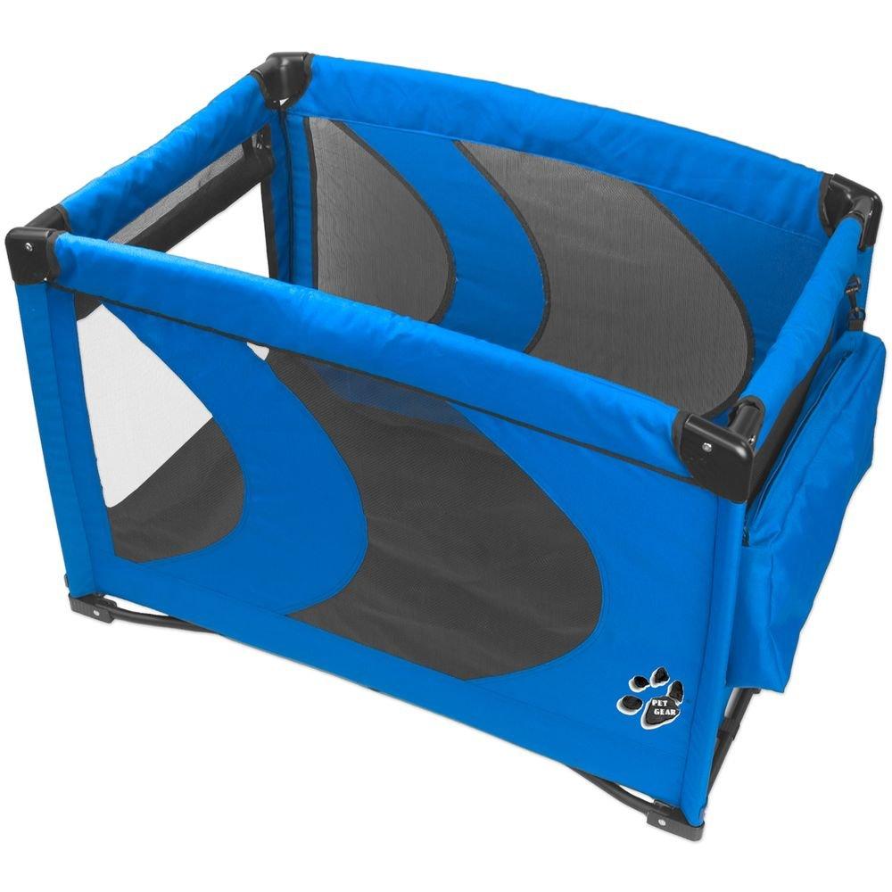 Pet Gear Tragbarer Hundeauslauf, blau