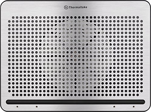 """Thermaltake Massive A21 Aluminum Panel Single 200mm Fan 10""""-17"""" Laptop Notebook Cooling Pad CL-N011-PL20BL-A by Thermaltake (Image #1)"""