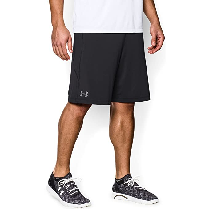 "e0459a347 Under Armour Men's Raid 8"" Shorts, Black /Graphite, ..."