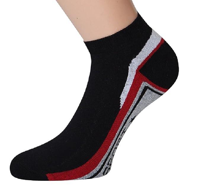 Zapatillas Calcetines trekking calcetines con suela de felpa Trekking Calcetines Hombre Mujer Calcetines Deportivos Correr Calcetines, 2 o 4 pares Blanco 2 ...