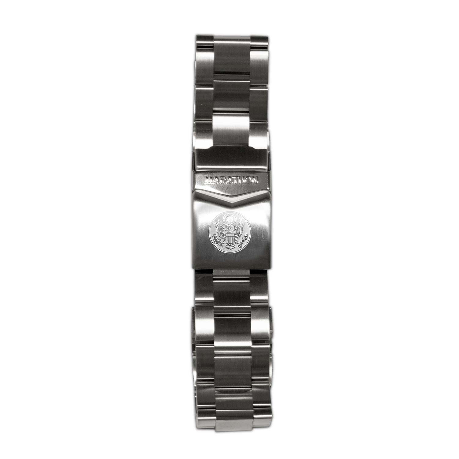 Marathon WW005007US Stainless Steel, Military Grade Bracelet's (22mm, US Great Seal)