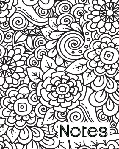 Read Online Notes: 8x10 Notebook Perfect for Work, Home, School-106 Pages-Lined-White Paper-Great Gift Idea pdf epub