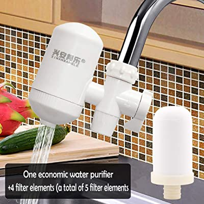 Alueeu Water Purifier with Filter Water Purifier Household Kitchen Faucet Filter Tap Water Filter Reduce Lead & Chlorine : Sports & Outdoors