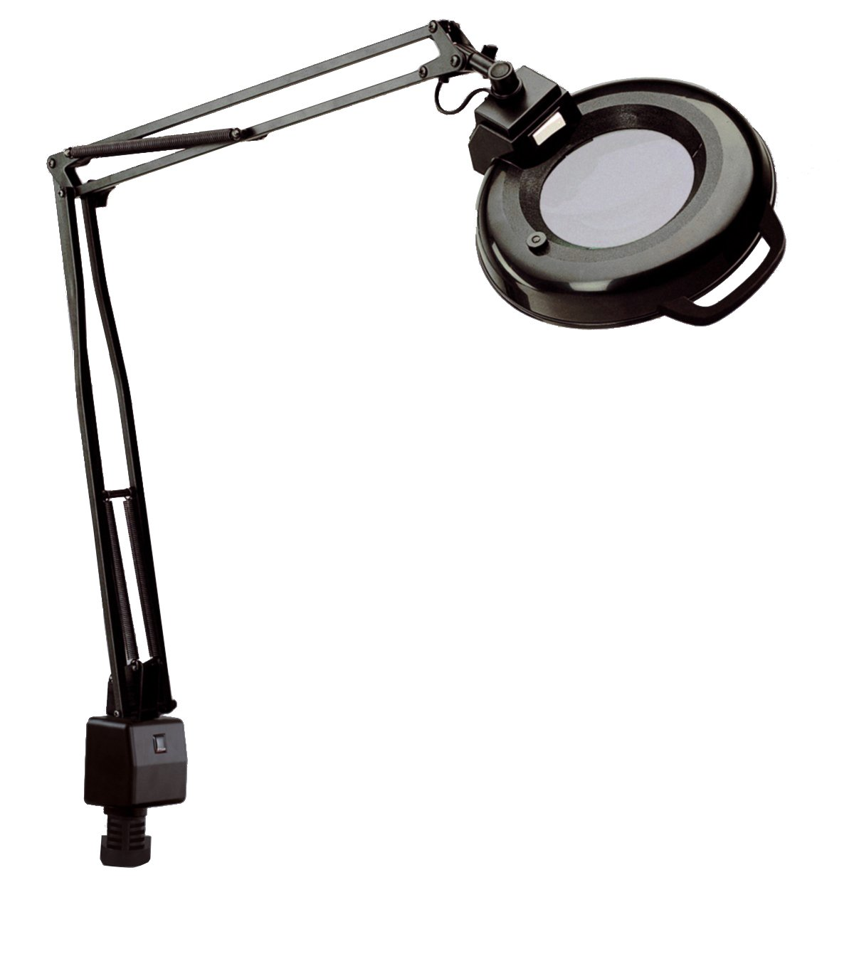 Amazon.com: Electrix 7121 BLACK Magnifier Lamp, Fluorescent, Clamp ...