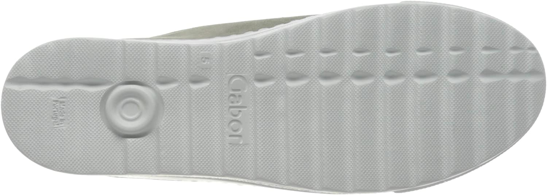 Gabor Comfort Basic, Scarpe da Ginnastica Basse Donna Verde Pino 42