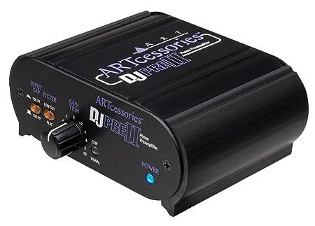 Review ART ART DJPREII Pro Audio DJPRE II Phono Turntable Preamplifier