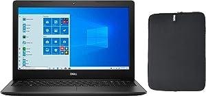 "2020 Dell Inspiron 15.6"" HD Touchscreen Premium Laptop, 10th Gen Intel Dual-Core i3-1005G1 (Beat i5-8250U), 8GB RAM, 128GB PCIe SSD Boot + 1TB HDD, Windows 10 Home + Woov Laptop Sleeve Bundle"