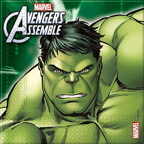 12 opinioni per 20 tovaglioli Avengers