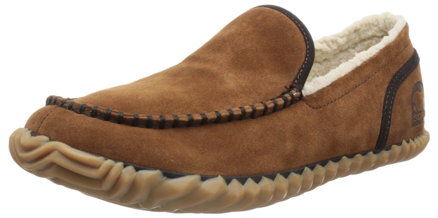 Sorel Men's Dude Moc,Grizzly Bear,7.5 M US by SOREL (Image #1)