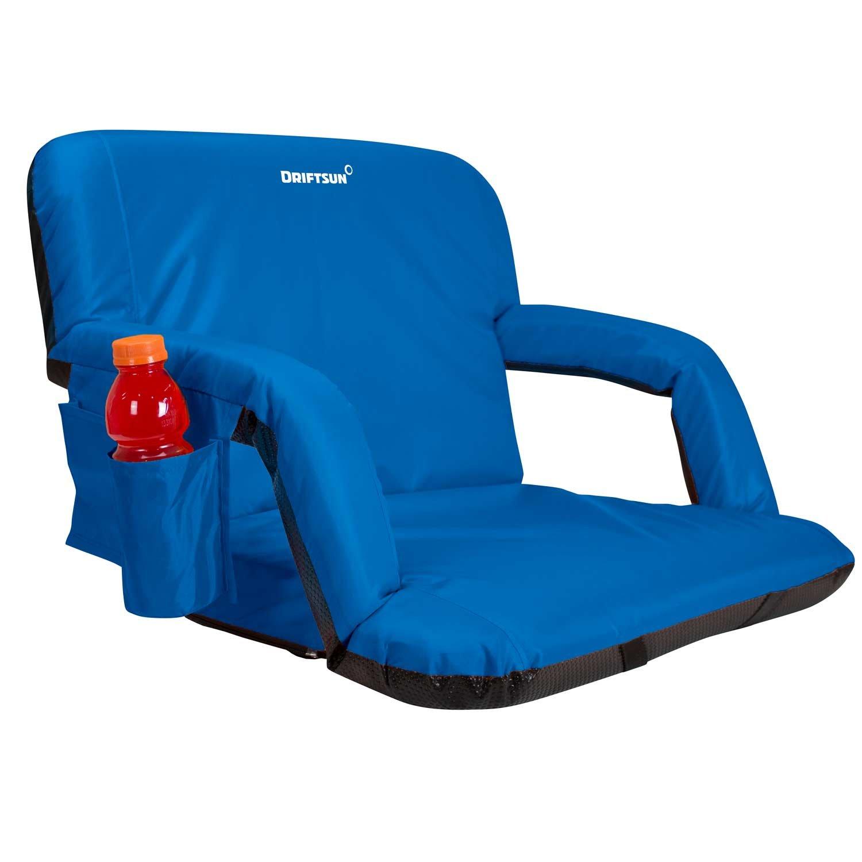 Amazon Driftsun Expanded Width Deluxe Stadium Seat Folding