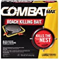Combat Source Kill Max R2 Large Roach, 8 Child-Resistant Bait Stations