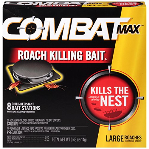 Combat Source Kill Max R2 Large Roach Bait - 1 Box (8 Bait Stations (Kill Bait)
