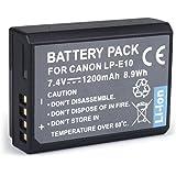 BPS 1200mAh LP-E10 LP E10 Li-ion Battery for Canon EOS 1100D,EOS 1300D,Canon EOS 1200D Digital SLR Camera,Canon Battery Grip & Canon Battery Charger LC-E10E