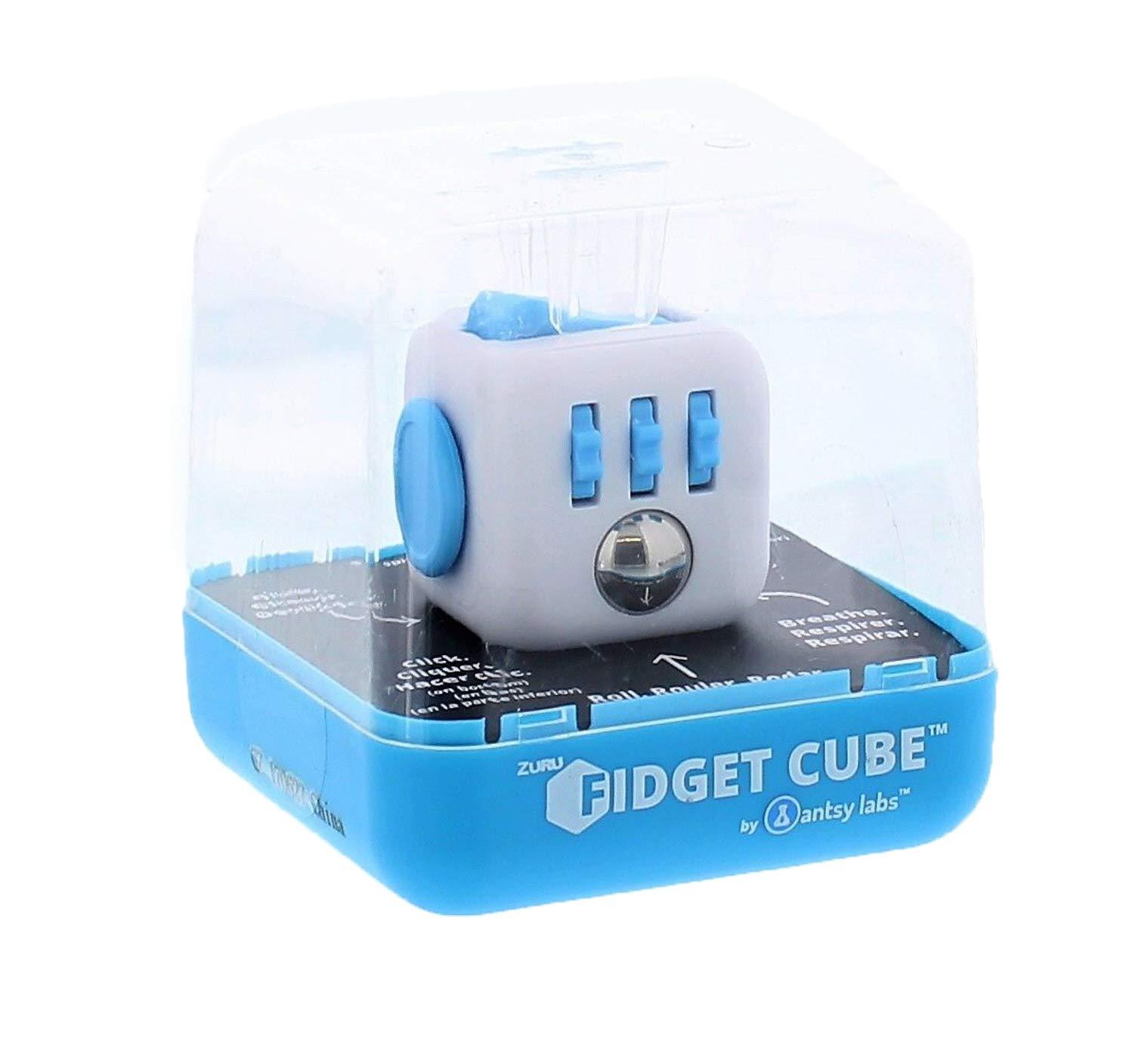 Zuru Fidget Cube by Antsy Labs - The Original Fidget Cube - Aqua Fidget Cube