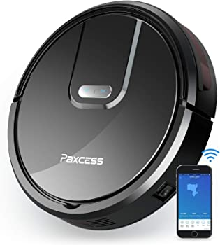 PAXCESS Self-Charging Wi-Fi Enabled Smart Robot Vacuum Cleaner