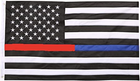 3ft x 5ft Thin Red Line American USA Flag Fire Rescue Firefighter 3/' x 5/' New