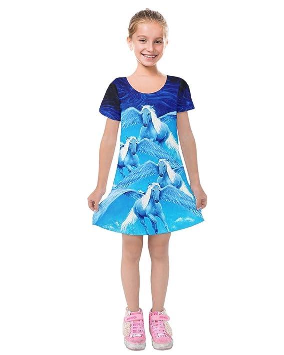 ba811a17a Amazon.com: PattyCandy Toddler Girls' Short Sleeve Soft Velvet Dress Fierce  Jungle Animals Lion Face Theme, Size:2-16: Clothing