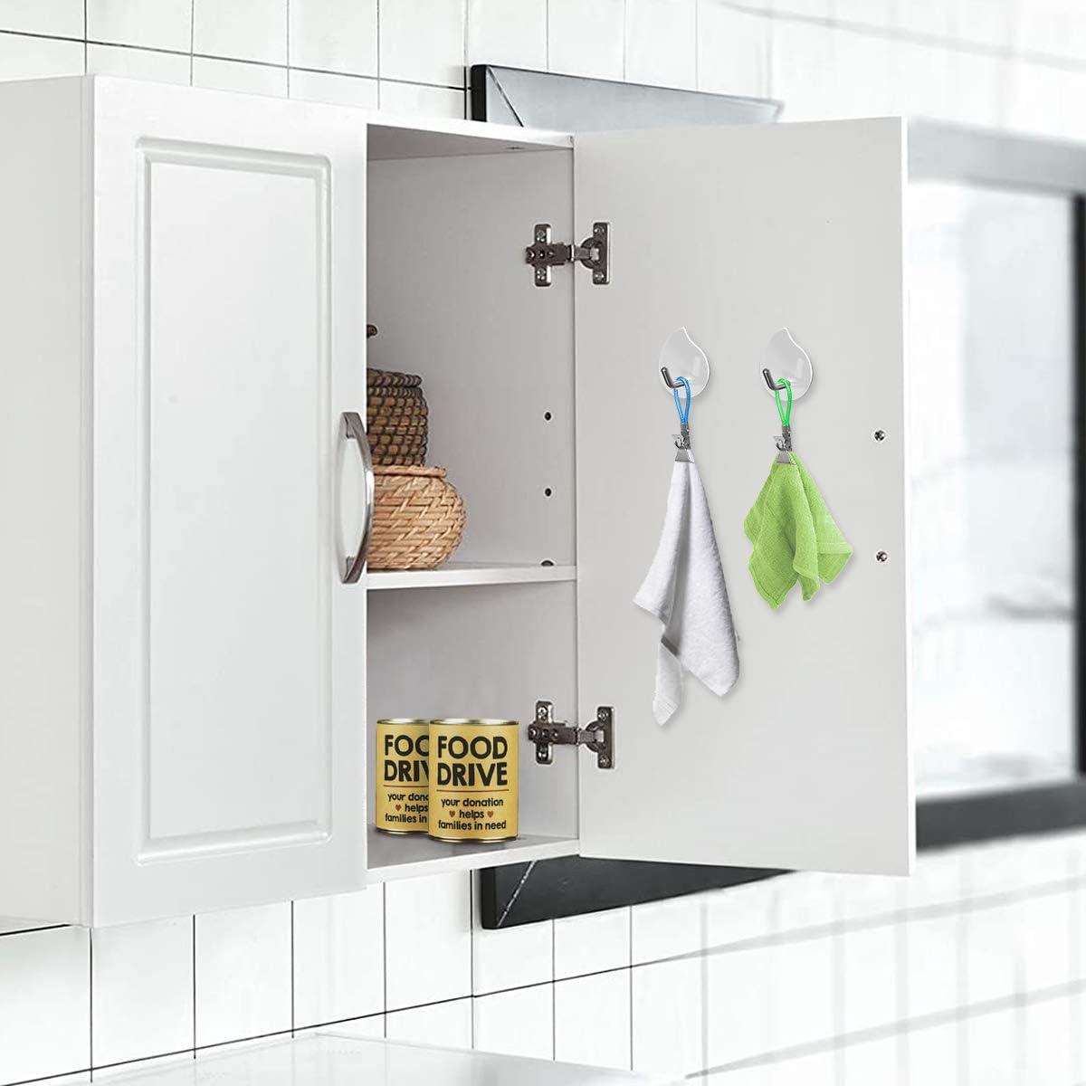 pinzas para colgar de tela para la cocina del hogar Armarios de ba/ño pinzas para toallas de t/é AIEVE 25 Pack Pinza para toallas de cocina