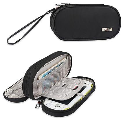 amazon com bubm double compartment storage case for ps vita