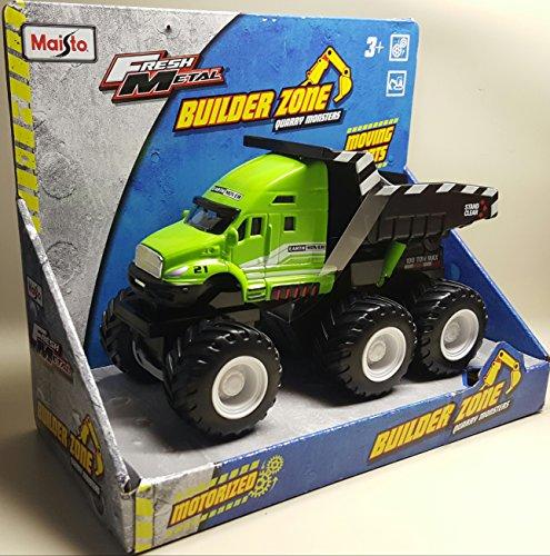 Fresh Metal Builder Zone Quarry Monsters Dump Truck -