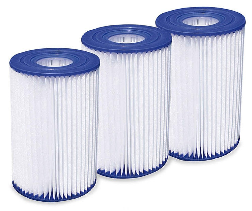 Summer Waves Type A/C Pool Filter Cartridge - 3 pack