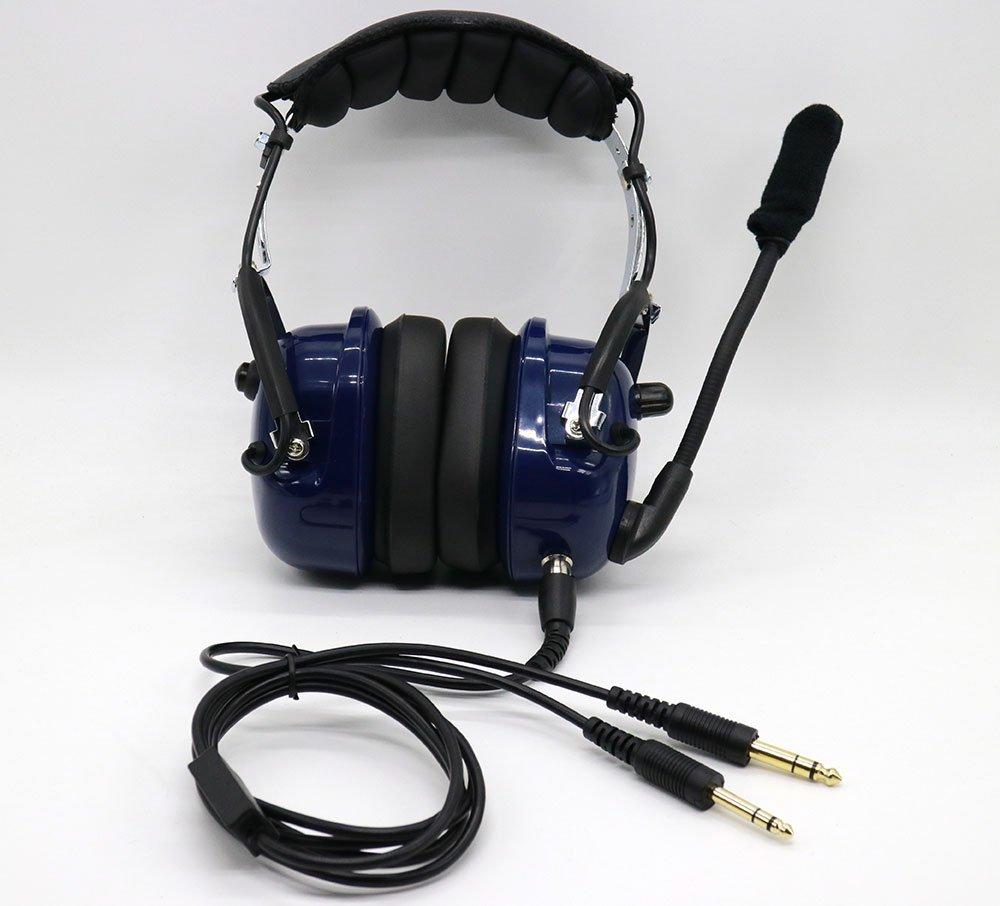 PA-77S Pilot Communications GA Pilot Headset Extension Cable 10 ft