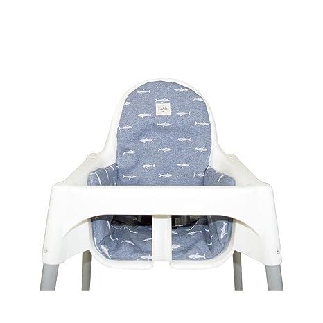 Fundas BCN F21-7501 - Colchoneta para trona Ikea: Amazon.es ...