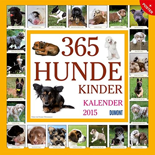 365 Hundekinder - Kalender 2015