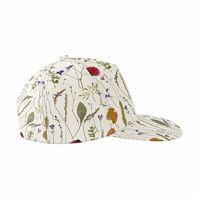 InterestPrint Classic Hip-Hop Sport Cap Adjustable Snap-Back Hat