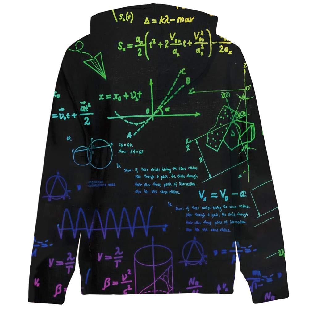 TUPOMAS Boys Girls 3D Print Graphic Hoodies Fleece Sweatshirts Teen Pullover Long Sleeve Tops with Pockets 3-12 Years Old