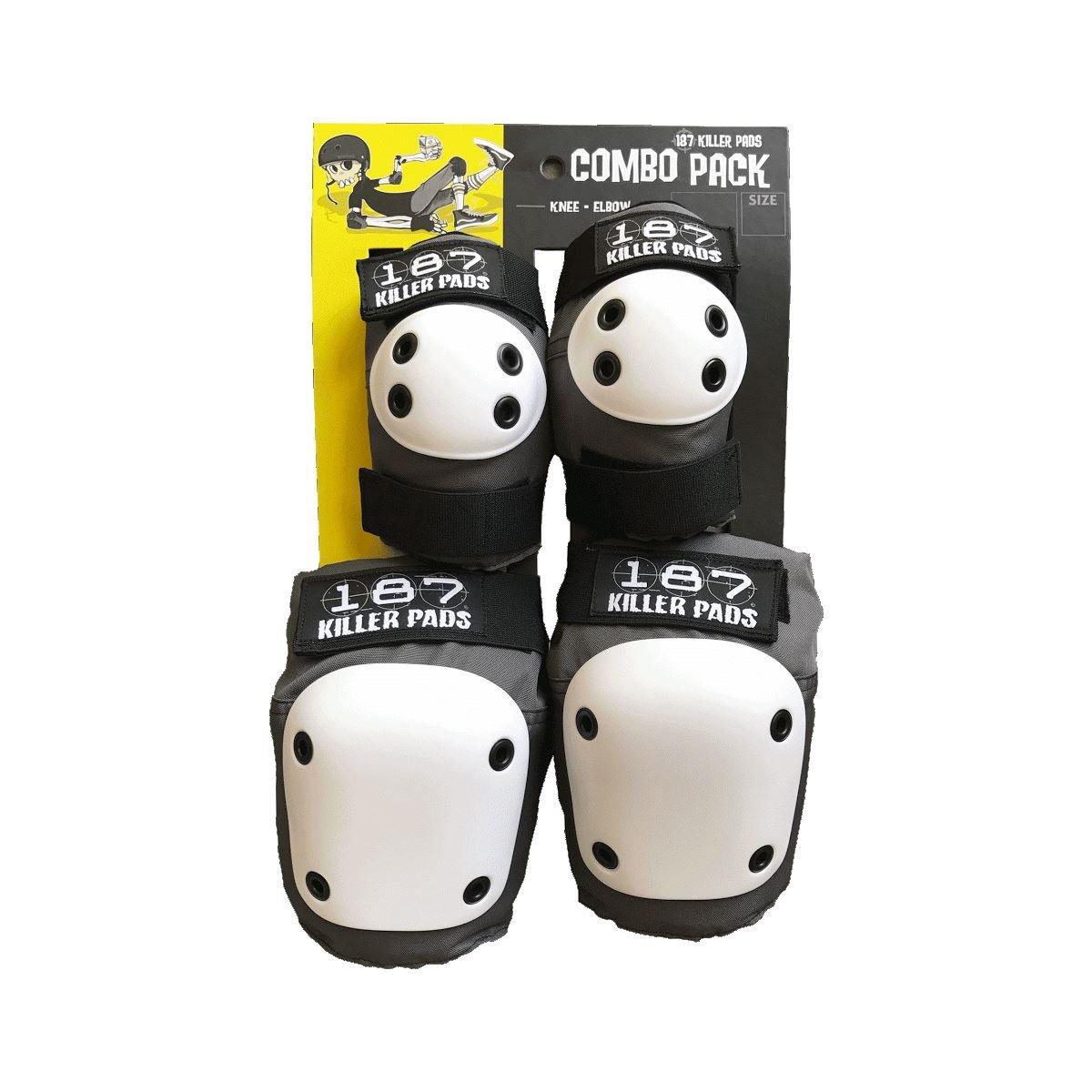 187 Killer Pads Combo Pack Grey (Grey, XS)