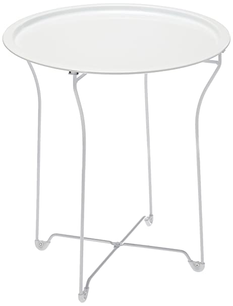 Merveilleux Amazon.com: Atlantic UrbSPACE Metal Side Table   Stylish Folding Tray Table,  Sturdy Steel Construction With Wear Resistant Powder Coating, PN38436135 In  ...
