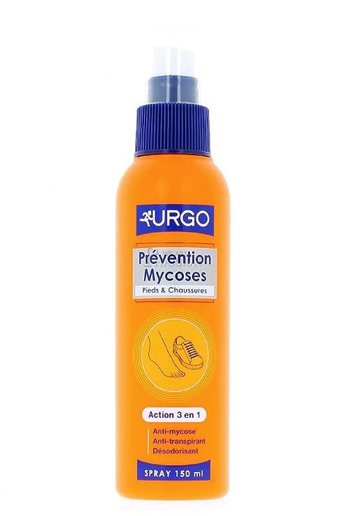 07e83bf72a1b Urgo Prévention Mycoses Pieds   Chaussures Spray 150 ml  Amazon.fr ...