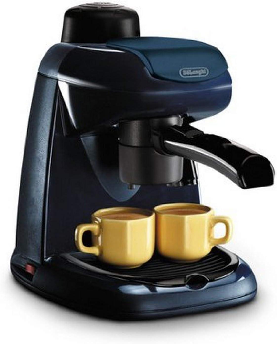 DeLonghi EC5 - Cafetera automática, 800 W, color negro y azul: Amazon.es: Hogar