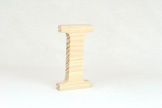 Letra Madera de Pino 15cm A