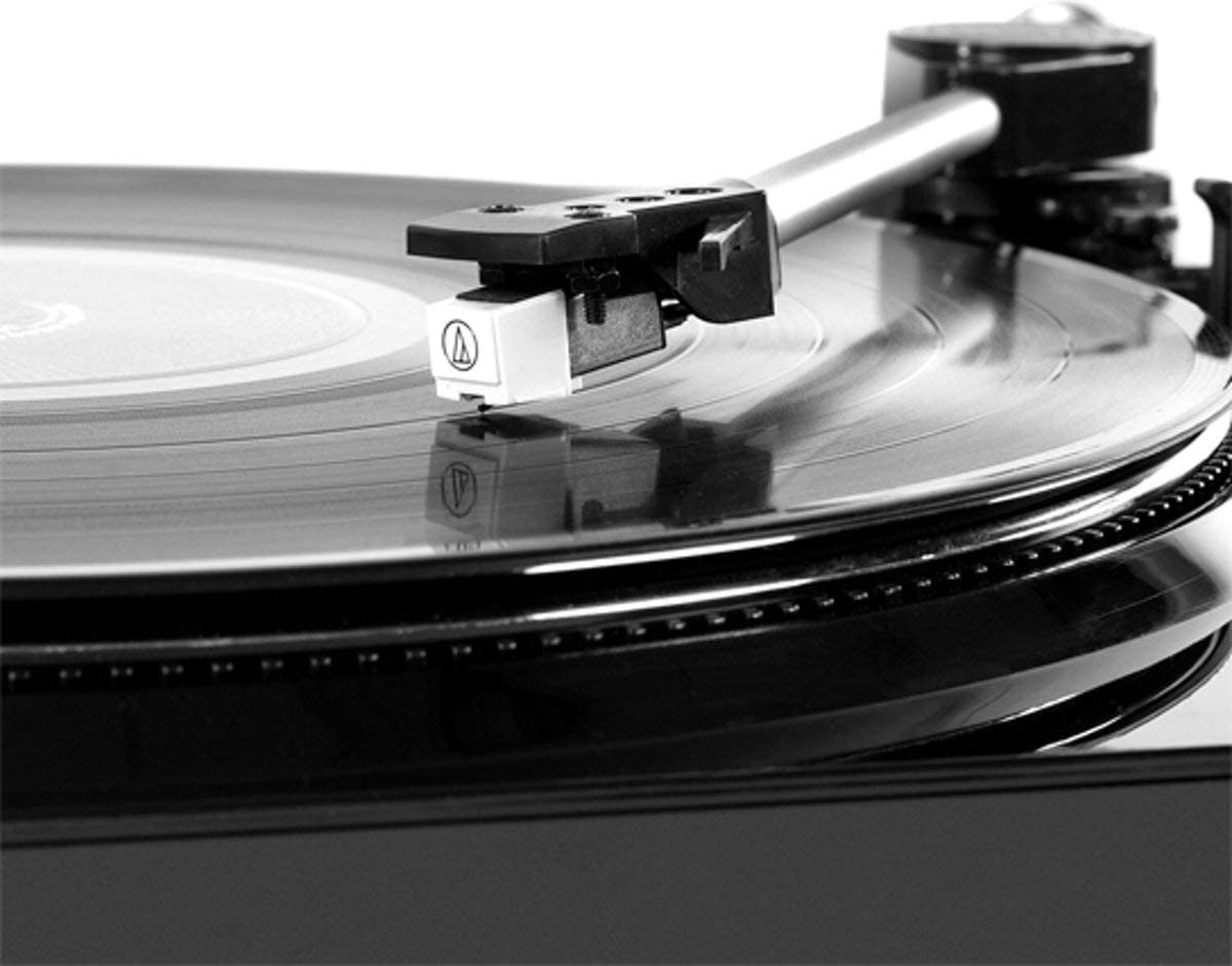 Victrola Pro Automatic Belt Drive Turntable Vinyl-To-MP3 USB Recording Silver