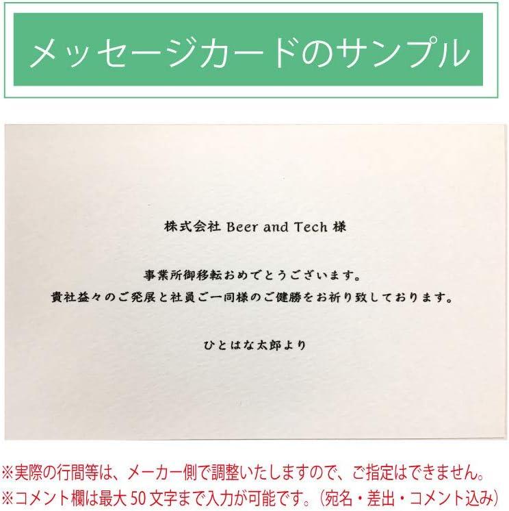 HitoHana(ひとはな) バラ グラスブーケ 白 S Hammershoi (ハンマースホイ) ベース L ミント付き