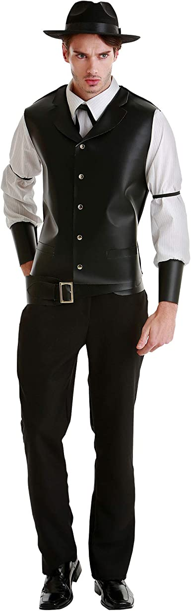 Amazon Com Daring Desperado Men S Halloween Costume Western Gunslinger Outfit Clothing
